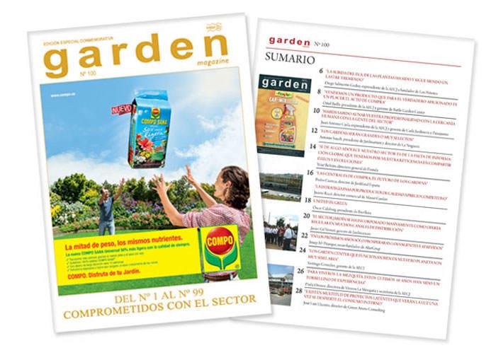 Revista de jardinería Garden magazine