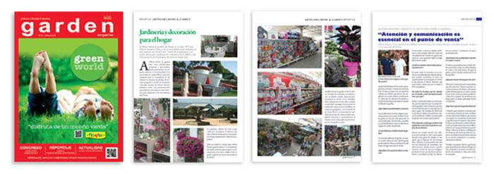 Revista Garden Magazine