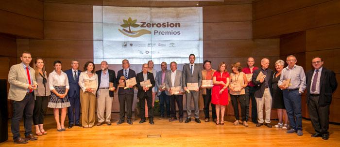 La fiesta del suelo en la III entrega de los Premios Zerosion