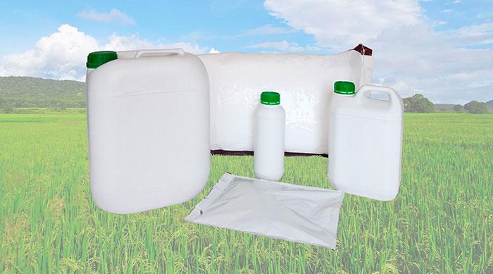 Tipos de envases agrícolas