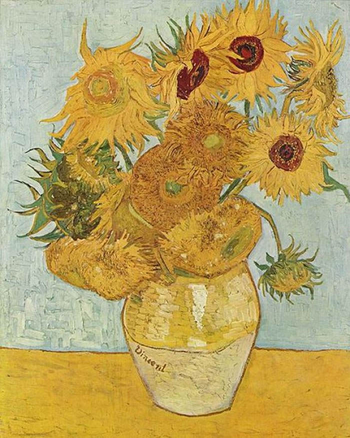 Vangogh girasoles 2
