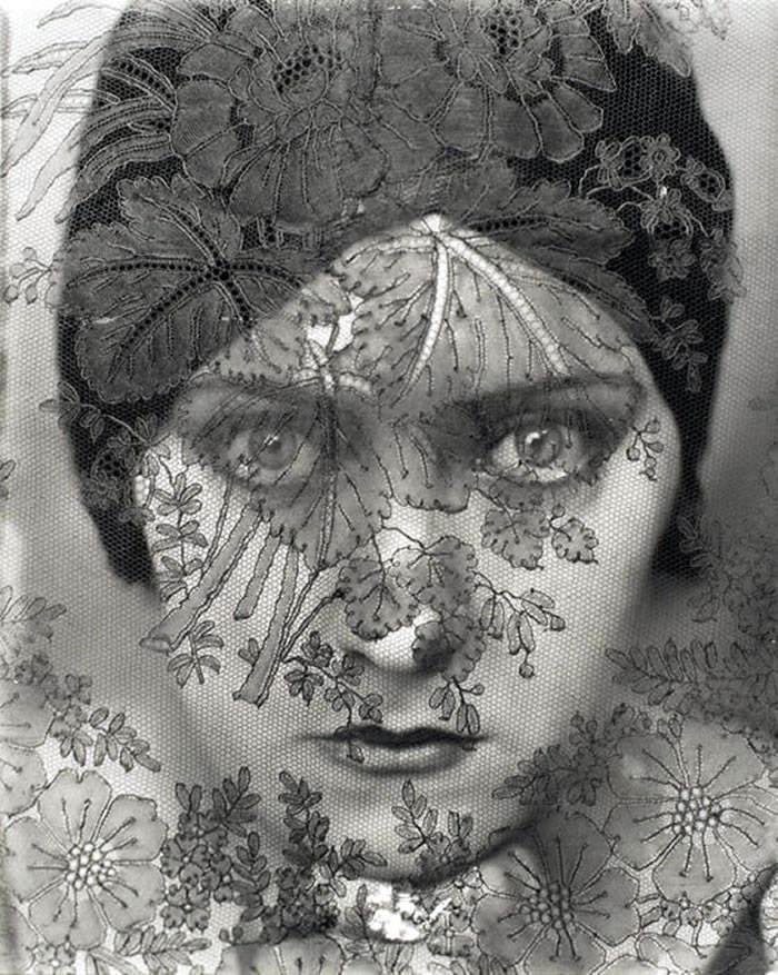 Edward Steichen - Retrato de Gloria Swanson, 1924