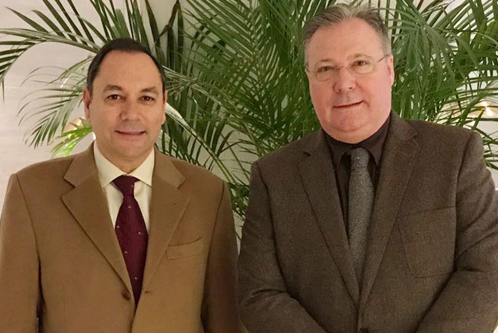 Victorino Martínez y Ricardo Villuendas Seguí