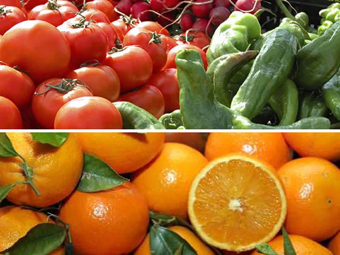 frutas y verduras que contienen vitamina C