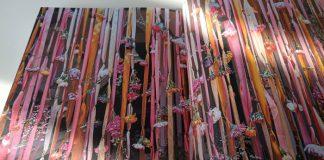Cortina de flores en Vivir con Flores