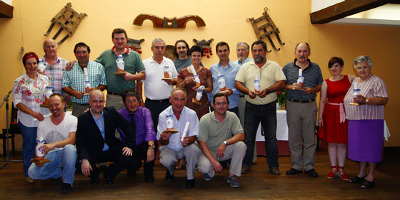 Jurado y ganadores de X Premio Txakoli Montenegro al Mejor Txakoli de Bizkaia